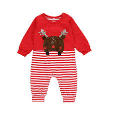 <b>Christmas Clothes Newborn Infant Baby Rompers</b> Boys Girls Deer ...