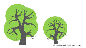 tree in powerpoint how to use bezier curve in powerpoint to create tree series part 3