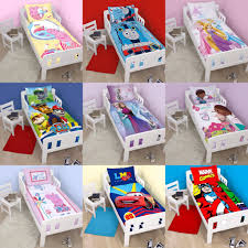 boys and girls junior cot bed quilt cover sets choose your design