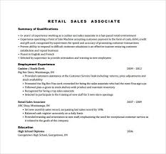 sample resume for sales associate position sample sales associate resume 8 free documents in pdf doc how to write a resume for a sales associate position
