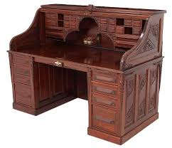 c1900 roll top desk cutler desk co buffalo ny mah 66w