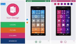 Small Picture Start Design add a little color to your Windows Phone Start