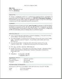 Sap Abap Resume Sample Sap Sap Abap Consultant Resume Sample Picture