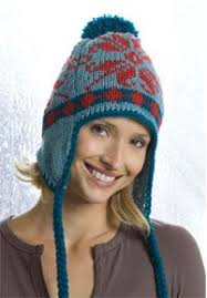 Earflap Hat Knitting Pattern Fascinating Mary Maxim Free Earflap Hat Knit Pattern