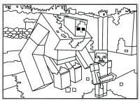 Disegno Minecraft