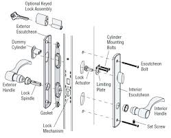 Kwikset Door Knob Parts Door Knob Parts Names Marvelous Door Knob