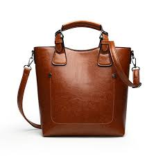 large leather bag women luxury top handle tote bag female fashion big shoulder bags black brown color leder handbag for las mens messenger bags mens bags