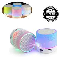 Light Speaker Shaarq Touch Control Rgb Changing Light Led Water Amazon In