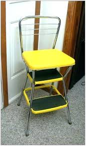 cosco retro stool vintage step stool step stool chair yellow retro with vintage blue vintage kitchen
