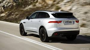 2017 Jaguar F-PACE 2.0d R-Sport AWD Diesel (Color: Rhodium Silver) - Rear  Wallpaper Caricos.com
