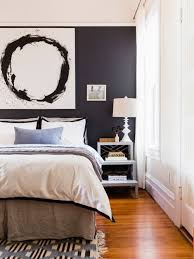 bedroom accent wall. Accent Walls For Bedrooms. Fine Black Wall Bedroom 1  Impressive Inspiration Houzz Inside