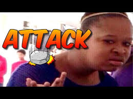 Attack Of The Confused Face Black Girl Meme(Redsilverj) - YouTube via Relatably.com