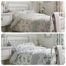 details about dreams ds lorena flora pastel pencil pleat curtains duvet set bedding