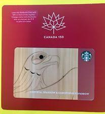 starbucks card canada 150 chrystal sparrow christopher sparrow