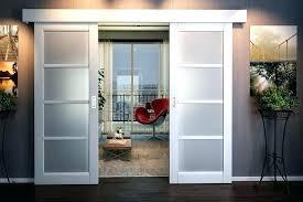 sliding barn doors for homes glass