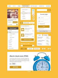 Psd Design Free Download Free Download Ecommerce Ui Kit Psd