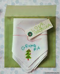 hand drawn handkerchief gift