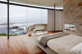 View in gallery Beautiful and minimal bedroom with ocean views