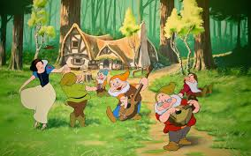snow white and the seven dwarfs wallpaper cartoons anime animated wallpapers
