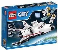 LEGO <b>City Space Port</b> 60078 Utility Shuttle Building Kit - <b>City Space</b> ...