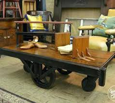vintage factory furniture. Wonderful Furniture Vintage Factory Carts Restoring An Antique Cart Painted Furniture  Industrial Coffee Tables To Vintage Factory Furniture R