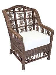 indoor rattan chairs. cottage wicker furniture, st. augustine veranda chair indoor rattan chairs