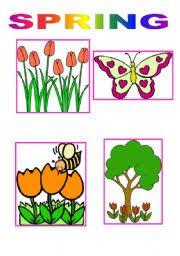 essay spring seasonenglish teaching worksheets  spring the third season  quot spring quot  level  elementary  age