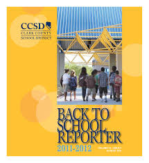Ccsd Back To School Reporter 2011 2012 By Aniko Doman Issuu