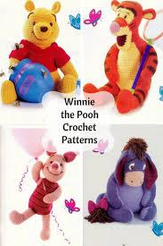 Winnie The Pooh Crochet Pattern New Decoration