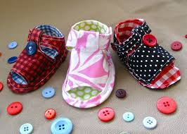 Baby Booties Sewing Pattern Beauteous How To Sew Baby Tiptoe Sandals YouTube