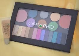 ofra cosmetics eye gel primer magnetic pro eyeshadow palette