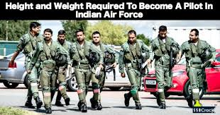 Height And Weight Chart For Air Force Females Height And Weight Required To Become A Pilot In Indian Air