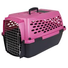 amazoncom  petmate fashion vari kennel lbs dark pink