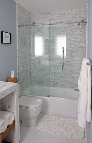 tub and shower combo the enclosure is by dreamline wish glass doors regarding 16