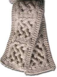 Cable Knit Scarf Pattern Best Classy Cable Crochet Scarf Pattern Pattern For Celtic Knot Knitted