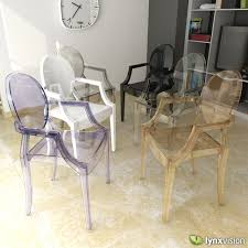 philippe starck louis ghost chair. louis ghost armchair by philippe starck 3d model max obj 3ds fbx stl mtl 1 chair e