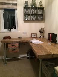 industrial style office desk modern industrial desk. simple industrial industrial salvage computer desk with by reclaimedbespoke on etsy 57500 inside style office modern