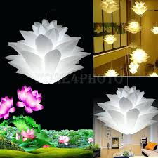 lotus flower chandelier cool photos a small