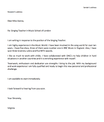 Application Letter Sample In French