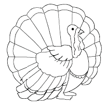 Thanksgiving Turkey To Color Turkey Thanksgiving Turkey Coloring