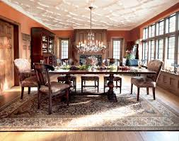 tuscany dining table eclectic dining room