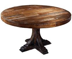 Round Rustic Kitchen Table Kitchen Leading Round Kitchen Table In Round Kitchen Table