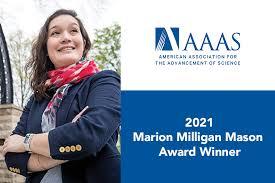 Kalow named AAAS 2021 Marion Milligan Mason Award Winner   NSF ...