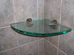 Corner Glass Shelves And Brackets Corner Glass Shelf Brackets Wall Glass Shelf Brackets Gallery 71