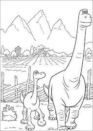 Dinasaurus Kleurplaat