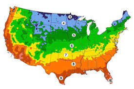 Us Growing Zone Chart Growing Zones Urban Farmer Seeds