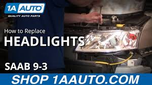 Saab 9 3 Fog Light Bulb Replacement How To Replace Headlights 03 07 Saab 9 3