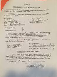 Articles Of Incorporation Oakwood Leon Homeowners Association Inc