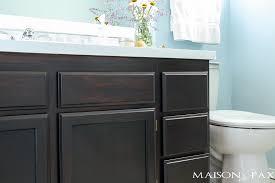 diy gel stain cabinets no heavy