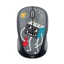 "<b>Мышь</b> ""Wireless <b>Mouse M238 Doodle</b> Collection"", черная <b>Logitech</b> ..."